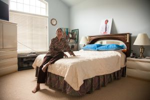 Chandra in Her Bedroom