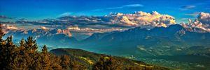 View from Gaisberg