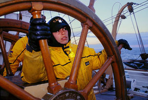 Turn at the helm