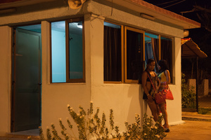 Checkpoint near Santiago de Cuba where Nomi and Malu were arrested