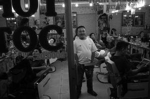 At the Salon