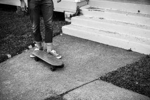 Josh and Skateboard