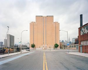 Midtown Tunnel Ventilation Building, 2-36 Borden Avenue, Hunters Point, Queens, looking northwest