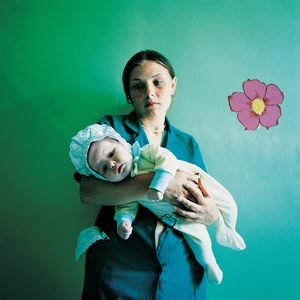 Diana with Yulia, Prison for Women with Children, Ukraine 2010. Sentenced for Theft