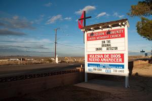 The Original Smoke Detector, Pearblossom, California, 2011