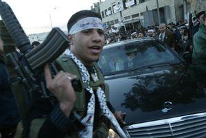 Abu Mazen ,Nablus 2004