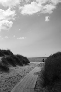 The lady in the dunes