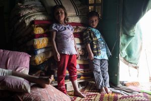 Atmeh Displaced Person's Camp, Idlib, Syria.