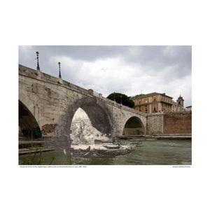Ponte di Cestio [Le Antichitá romane III] circa 1784 / 2016