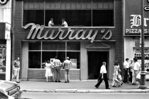 Murray's Restaurant, Montreal, 1976