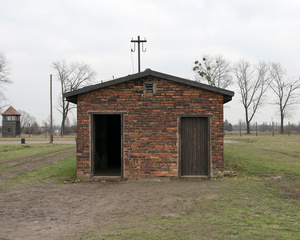 Washroom Barracks, Auschwitz Memorial and Museum, 2016