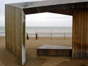 Sculptural Beach Shelter