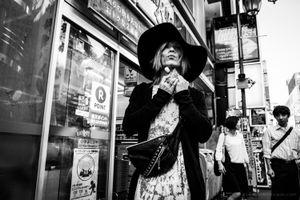 The shinjuku hat boy - Tokyo, 2016