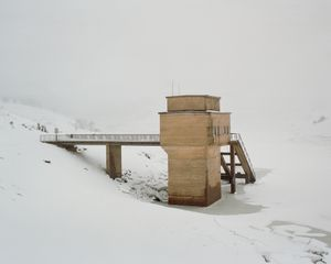 Intake tower, Guthega Pondage.