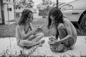 Amalia and Hunter playing with Natural Clay, Russell Island QLD Australia May 2015.