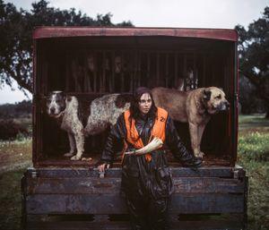 Ana Parreira, tracking dog handler. © Antonio Pedrosa