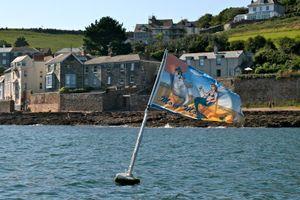 Floating Flag