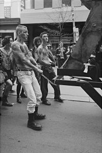 Pride Parade, Toronto, 1990