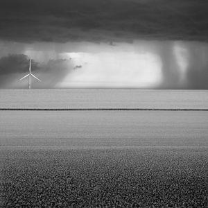 Wind turbine and peas