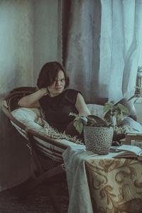 Vera Bondare at home