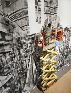 Hanne Darboven studio Tower, 2012. Photo installation by Florian Härle. © Katherina Gaenssler, courtesy of Barbara Gross Gallery. Recipient of the Prix découverte