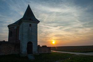 Chapel - sunset
