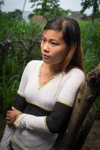 Ra Glai lady in Khanh Koa Province