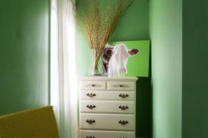 Self Portrait (Green Room)