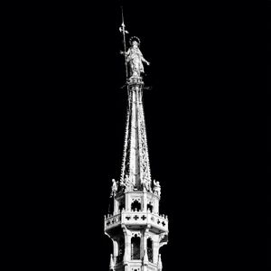 Below the shadow of the Madonnina, hundreds of people die every day.