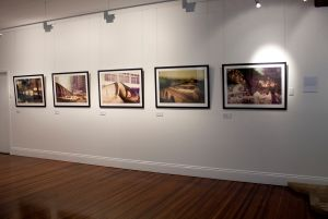 Installation image, 'Aware' exhibition, 2015.