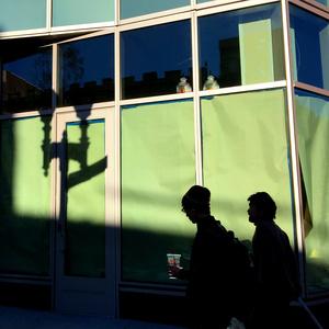 Massachusettes Avenue silhouettes