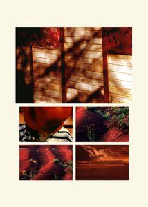 N°78 - Passage - Rouge pomme - 2008.