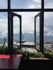 A window with a view