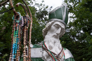 St Patrick & Offerings - Ogulla Shrine, Co Roscommon