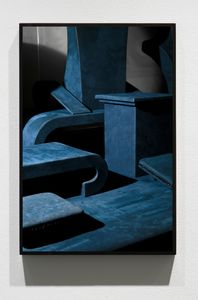 Untitled (Blue Necks), 2013/15, Pigment print, 45 x 30 inches
