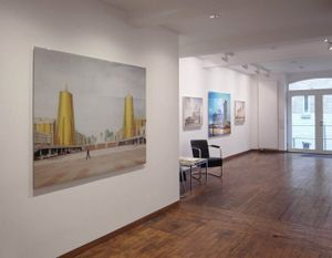 Exhibition view at gallery f75, Stuttgart, Germany