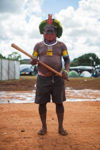 Guerreiro Kayapó - Mato Grosso