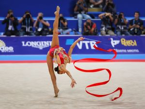 World and European champion, in rhythmic gymnastics, Dina Averina