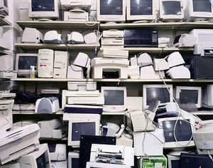 Untitled Thrift, 2005 (CPUs)