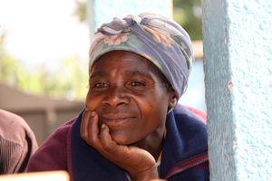 Pensive woman - Musanze Rwanda