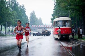 Pyongyang City Marathon, August 12th, 2012.