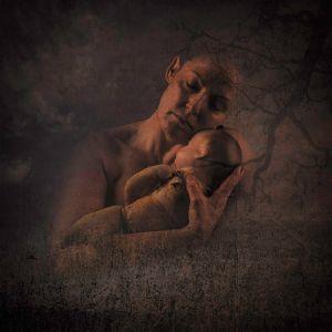 Motherhood - selfportrait