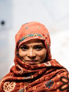 Street Girl Jaipur India , February 2018