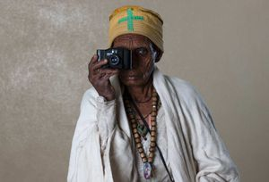 The World of Sight. Portrait of TELISH DESTO. From the project: Camera. Blind. Project. ©Ivo+Ana