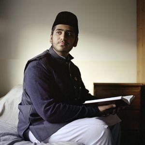 Hazeem Arif, Young training Imam, England, UK.