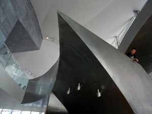 Atrium of the Hunter Museum of American Art, Chattanooga, Tennessee