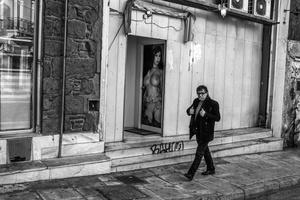 bordello scene, Athens 2016