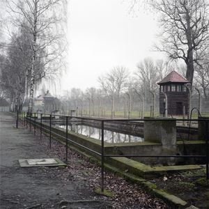 Fire Brigade Reservoir Built in the Form of a Swimming Pool, Auschwitz-Birkenau Memorial and Museum