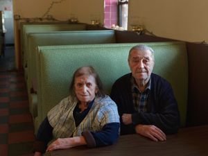 Sophie and Steve, Steve's Place, Congress Street, Detroit 2013