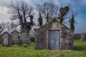 Old Cemetery between Elphin & Hillstreet, Co Roscommon, Ireland.
